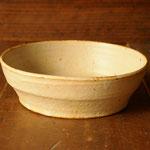 白釉台形鉢(大)