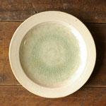 ビードロ釉7寸皿