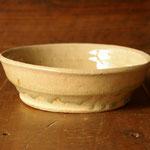 ビードロ釉台形鉢(大)