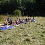 Zelten in Brunnenbachsmühle (Braunlage) 2003