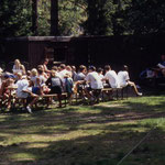Zelten in Brunnenbachsmühle 2000