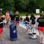 Cold Water Challenge am 02.07.2014 im Stadtbad Hornburg