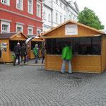 Verkaufstand aus Holz von Holzhaus Roew
