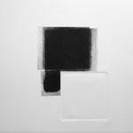 D'un noir intense, gravure pointe sèche, 40x40 cm, 1/1, 2009