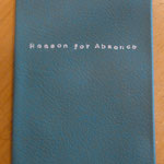 引き出し棚に詩の冊子(12頁)W95H120
