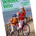Conception, rédaction et réalisation du guide Vendée Vélo (visuel couverture JCDecaux)