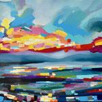 dreamtime    60 x 130 cm  Öl auf Leinwand (gerahmt)