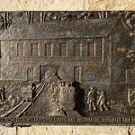 Bronzetafel - Bethaus