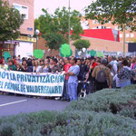 1 de octubre. Manifestación contra la privatización de la gestión del Parque de Valdebernardo (foto: todovicalvaro.es)