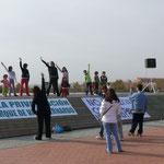 21 de noviembre. Jornada reivindicativa del Parque Valdebernardo (foto: ASCOVA)