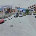 octubre. Las Gallegas, una zona dividida a la espera de unas obras (foto: Google maps)
