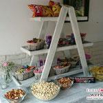 Leiteretagere für Candy-Bar