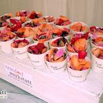 Streublüten für die Gäste