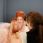 """CATARINA CAVALIERI in Shaffer """"Amadeus"""", Theater in der Josefstadt 2011, Foto Sepp Gallauer"""