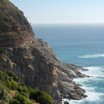 Entlang der Küste Richtung Hout Bay