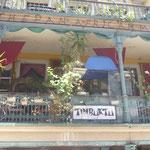 Ein Café in der Long Street, Kapstadt