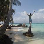 Tom am Strand von Coco Banderas