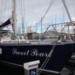 Unser Schiffli in der Marina