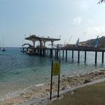 Pier auf Christmas Island