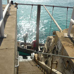 Abenteuerlicher Pier in Ascension