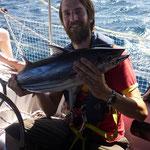 Dieser Thunfisch reichte für drei Tage.
