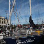 Sweet Pearl in V&A Waterfront Marina, Kapstadt