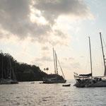 Mooringfield auf Christmas Island