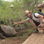 Tom und die Schildkröte