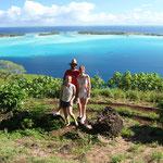 Wunderschöner Ausblick auf Bora Bora