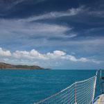 Schönes Segeln um Kap York Richtung Darwin