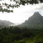 """Der höchste """"Berg"""" auf Bora Bora"""