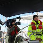 Deutscher Zoll und Kamerateam