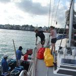 Dieselversorgung auf Galapagos