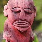 Ein Tiki auf Tahiti
