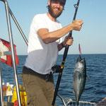 Der stolze Angler