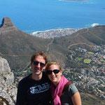 Bilderbuchwetter auf dem Tafelberg