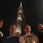 Lukas Räuftlin, Jeremy Desplanches, Jean-baptiste Febo und David Karasek