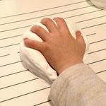 正しい手のフォームを作る練習
