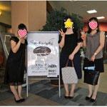 Mちゃん、Yさんと りれーピアノ発表会