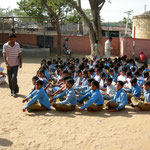 A village school in North India