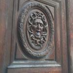 Wooden door  in the Marais