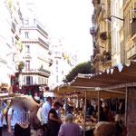 Market on rue Montmartre, 75001
