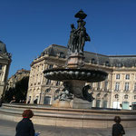La place de la Bourse Bordeaux