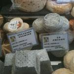 Les fromages à La fermette Montorgueil