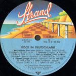 """Platten-Etikett des Plattenalbums """"Rock in Deutschland - Vol. I"""" von 1980 0 (Foto discogs.com)"""