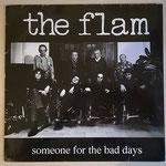 """Album """"the flam"""" (GER 1991): Man sieht schon auf den ersten Blick, das Cover hat deutliche Altersspuren ..."""