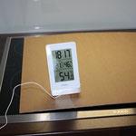 Wetterstaion mit Temperatursonde (Außenfühler)