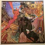 Ein noch gut erhaltenes Exemplar des Album ABRAXIS von Santana (GER 1970, GAT)