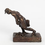 Aufbruch (H 20 cm, Bronze)