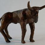 Zu viel(e) Geschichte(n) (H 19 cm, Bronze)